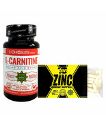 30 Caps TEN Zinc Citrate Box | Immune | L-Carnitine | Amino Acid | Weigh... - $37.61