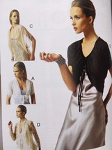 Vogue Sewing Pattern 8885 Ladies Misses Jacket Size XS-M New Gillett - $18.80