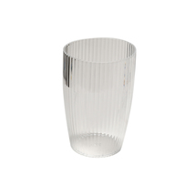 Carnation Home Fashions Clear, Rib-Textured Tumbler 1301-BA-ASR-TU-26 - $23.62