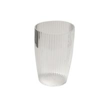 Carnation Home Fashions Clear, Rib-Textured Tumbler 1301-BA-ASR-TU-26 - $23.62