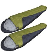 SPECIAL > 2 ZIP TOGETHER 0 DEGREE MUMMY BAGS (SET NEW) By HIGH PEAK FREE... - $99.95