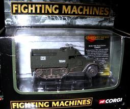 Corgi Die Cast Fighting Machines M3 Half Truck Us Marine Corp - $15.00