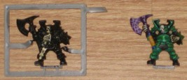* Warhammer 2 Chaos Warriors Games Workshop Pla... - $4.00