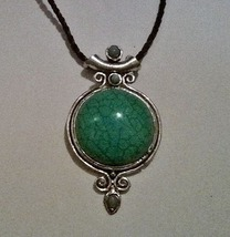 Artisan Crafted Genuine Turquoise Gemstone Necklace ~SALE~ - $22.99