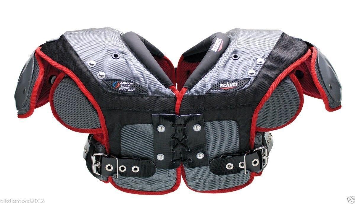Schutt Varsity Armor Lite OL/DL Football Shoulder Pads 3X Large XXXL #BOX1