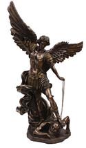 St. Michael, cold cast bronze statue, 45 inches - $1,547.55