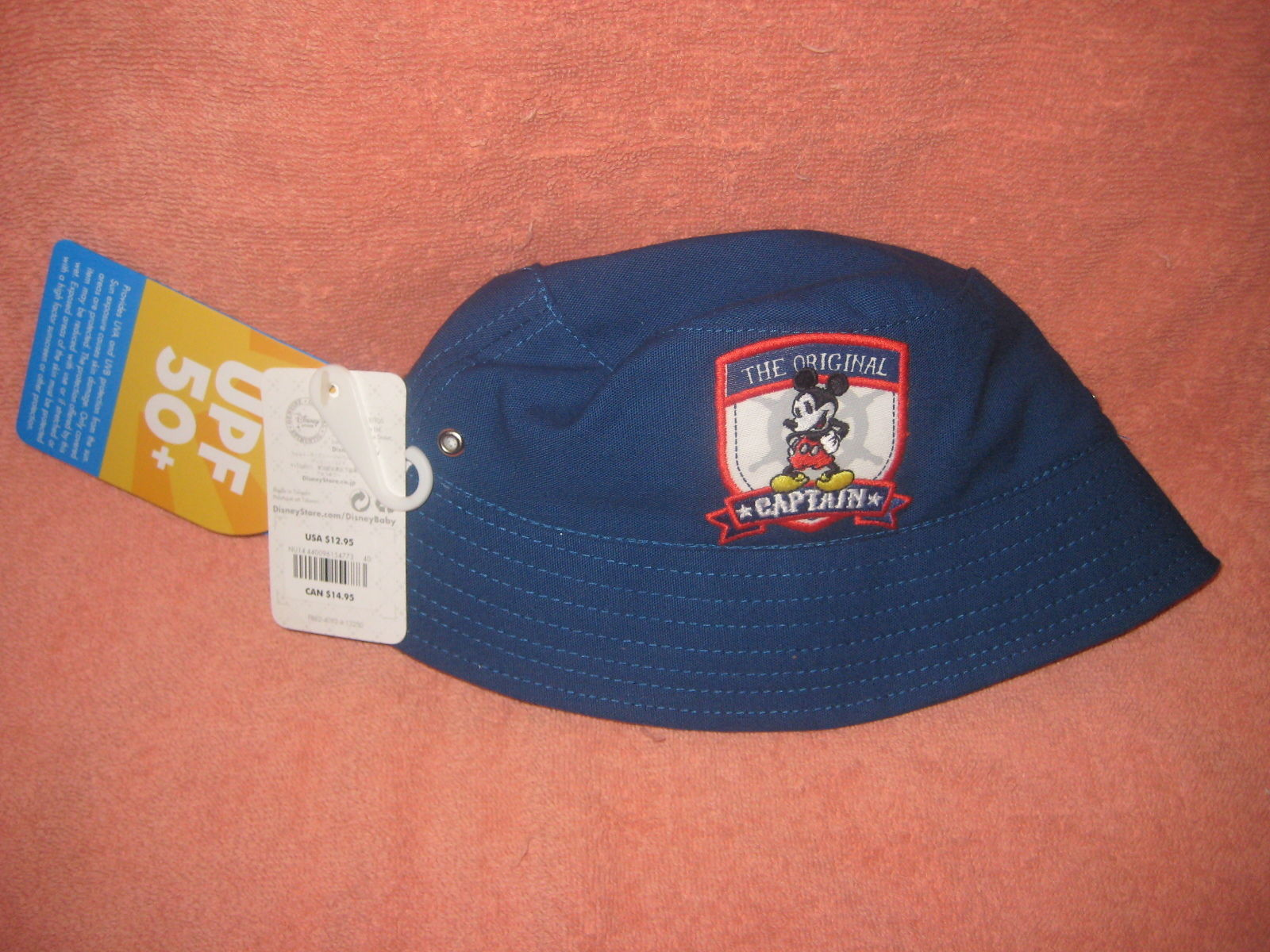 bf1780dcb7d Disney Store Baby Captain Mickey Hat 18 to and 50 similar items. 57