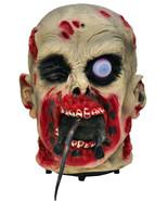 Zombie Ate my Rat Animated Halloween Prop - $63.86