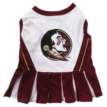Pets first Florida State Cheerleader Dog Dress Medium 1288-23508117919-M - $22.55