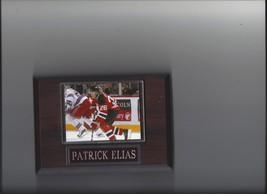 Patrick Elias Plaque New Jersey Devils Hockey Nhl - $0.01