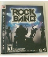 Sony PlayStation 3 PS3 Rock Band Black Label Video Game with Case Instru... - $5.99