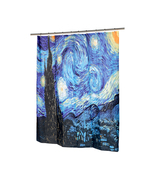 The Starry Night Fabric Shower Curtain-1301-FSC13-SN - $27.23