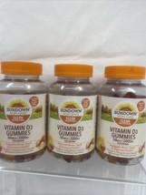 (3) Sundown Vitamin D3 Gummies 150 ct 50 mcg 2000 IU serving Non-GMO 7/22 - $19.99