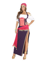 Sexy Elegant Moments Gypsy Maiden Fortune Teller Costume S-L & PLUS SIZE... - $51.99