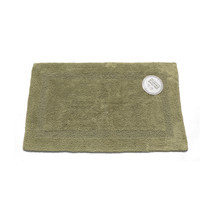 Large-Sized Reversible Cotton Bath Mat in Sage 1301-BM-M2L-42 - $25.38