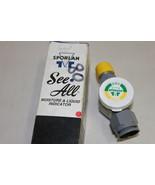 """Sporlan SA-14FM 1/2"""" SeeAll Moisture & Liquid Indicator - $12.95"""