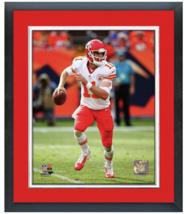 Alex Smith Kansas City Chiefs vs Miami - 11 x 14 Matted/Framed Photo - $42.95