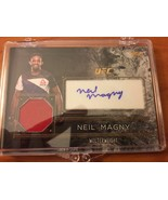 2016 Topps Top of the Class UFC Autograph Relic Neil Magny, UFC - $12.86