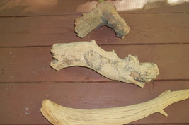Driftwood3 PIECES  Natural Pet Aquarium Reptile OR MAKE LIGHT - $15.00