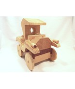 Antique Auto Unfinished Wood Craft Project - Very Cool Piece, Great Detail! - $45.00