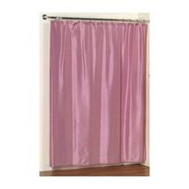 Lauren Dobby Fabric Shower Curtain in Rose-1301-FSC-L-28 - $29.59