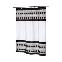 Metro Fabric Shower Curtain-1301-FSC-MET-16 - $23.99