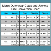 Men's Black Mink Faux Fur Front Zip Up Long Sleeve w/ Hood or Collar Coat Jacket image 5