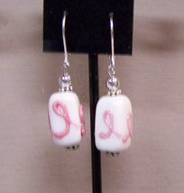 Breast Caner Earrings - $6.00