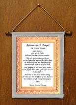 Accountant's Prayer - Personalized Wall Hanging (447-1) - $19.99