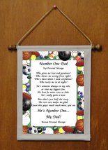 Number One Dad - Personalized Wall Hanging (452-1) - $19.99