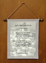 God's Been Good To Us - Personalized Wall Hanging (466-1) - $19.99