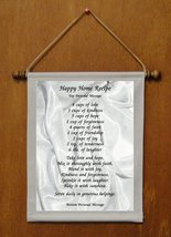 Happy Home Recipe - Personalized Wall Hanging (463-1) - $19.99