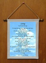 Living - Personalized Wall Hanging (470-1) - $18.99