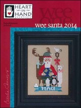 Wee One: Santa 2014 cross stitch chart Heart in Hand - $7.65