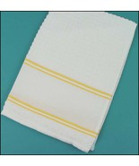 Yellow Nancy Kitchen Towel 15x24 14ct cross sti... - $7.65