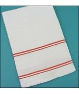 Red Nancy Kitchen Towel 15x24 14ct cross stitch... - $7.65