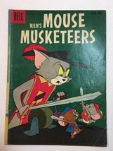 Dell Comics MGM's Mouse Musketeers # 19 1959 Vintage Comic Book Tom and ... - $9.45