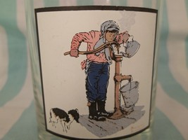 Norman Rockwell Pepsi Arby's Tumbler man at Well Chilling Chore Drinking... - $14.95