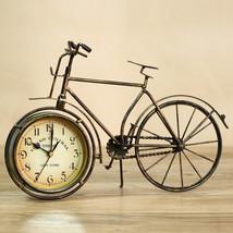 Metal Bicycle Table Clock - £24.23 GBP