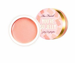 Too Faced You're So Jelly Jelly Highlighter Gel ROSE PINK NIB - $21.78