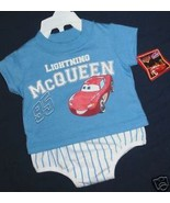 BOYS 0-3 OR 3-6 MONTHS - Disney Pixar Cars - Lightning McQueen PLAYSET - $5.99