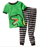 BOYS 12 MONTHS - Carter's Dream - Dinosaur PJs PAJAMAS - $13.86
