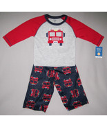 BOYS 12 MONTHS - Carter's - Fire Truck Hero 2-Pc PJs / PAJAMAS - $13.86