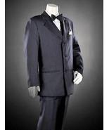 BOYS 8 -  Arrow - Charcoal Gray Pinstripe 2-pc JACKET &  DRESS PANTS / SUIT - $35.28