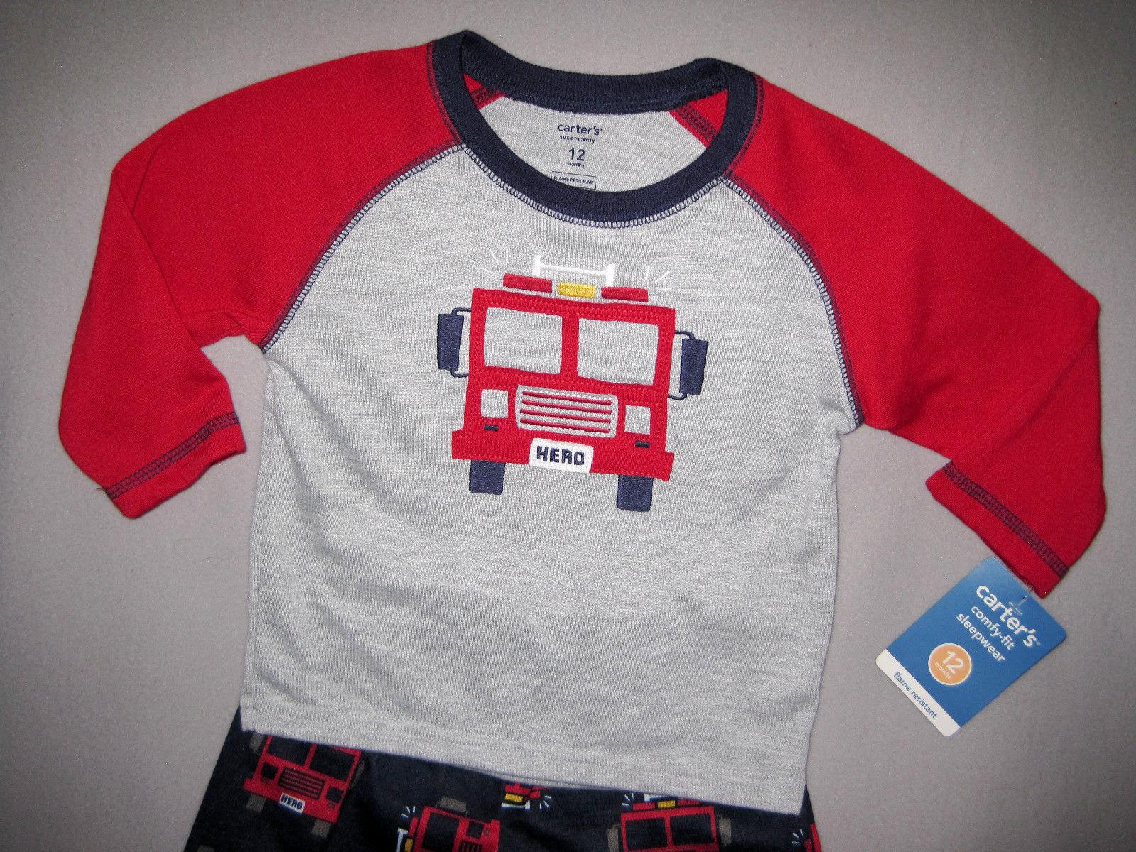 BOYS 12 MONTHS - Carter's - Fire Truck Hero 2-Pc PJs / PAJAMAS