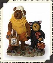 "Boyds Bearstone ""Candy B Corn w/Scaredy Bear..Trick or Treat""  #228408- ... - $22.99"