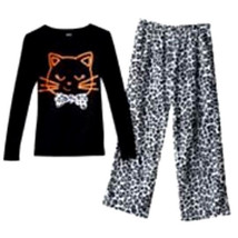 GIRLS 5 - Carter's - Cheetah Cat Super Soft Fleece PJs PAJAMAS - $14.85