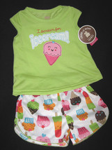 Girls 24 Months   Carter's Child Of Mine   I Scream For Ice Cream P Js Pajamas - $15.00