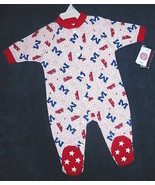 INFANT 3-6 MONTHS - NCAA Mississippi Rebels SLEEPER - $10.89