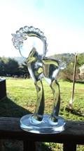 Vintage Large Dalzel Viking Crystal Horse Pony ... - $195.00